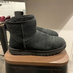 UGG Shoes - Black mini uggs
